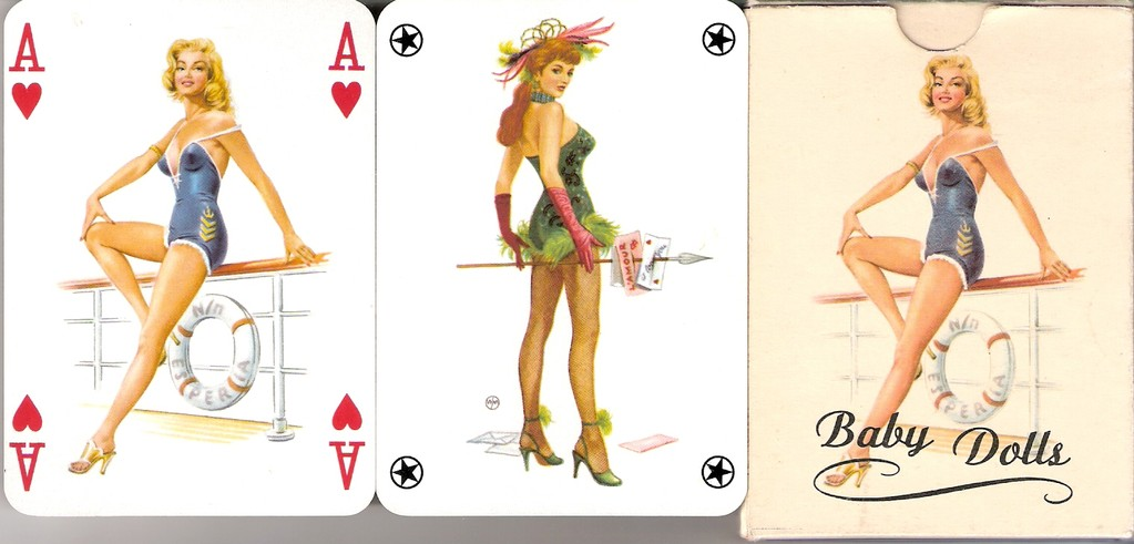 Le florentin erotic playing cards of paulemile becat - 5 9
